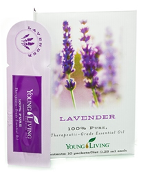 Lavender Essentail Oil Sample - 10ct