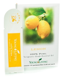 Lemon Essential Oil Sample - 10ct